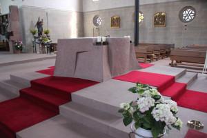 Altar Kirche Hohentengen