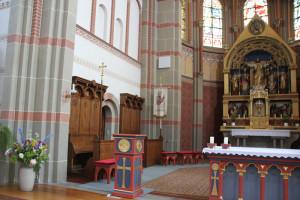 Altar Kirche Hundersingen