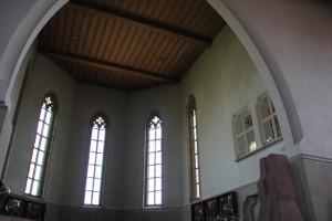 Apsis Kirche Hohentengen