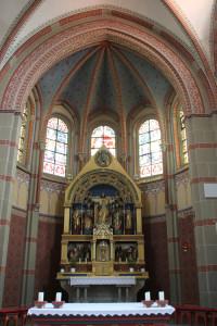 Apsis Kirche Hundersingen
