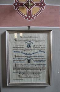 Dokument Kirche Hundersingen