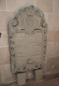 Gedenkstein Kirche Hohentengen