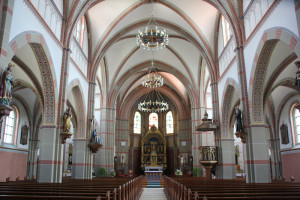Innenraum Kirche Hundersingen