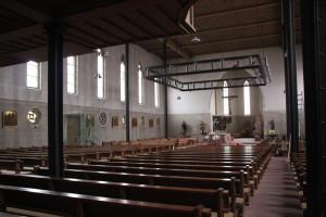 Innenraum der Kirche Hohentengen