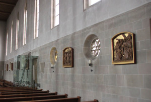 Jesu Leidensweg Kirche Hohentengen