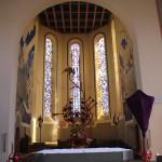 Chorraum Kirche Tettnang