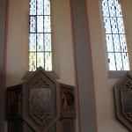 Fensterdekoration Kirche Tettnang