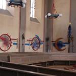 Innendekoration Tettnanger Kirche