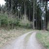 Strasse zur Fluchtburg Buchkapf