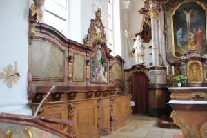 Chorgestuehl Kirche Unlingen