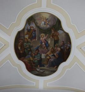 Deckengemaelde Kirche Unlingen