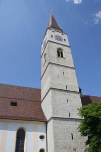 Gotischer Kirchtrum Ehingen