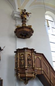 Kanzel Pfarrkirche Unlingen