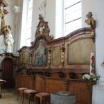 Kirche Unlingen barocker Chor
