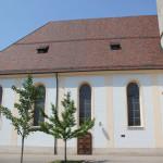 Kirchenschiff St Blasius Ehingen