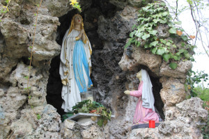 Marienerscheinung Lourdes Nachbildung