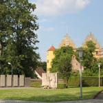 Schloss von Kirche aus