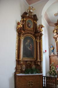 Seitenaltar Kapelle Unlingen