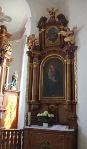 Seitenaltar Maria Heimsuchung Unlingen