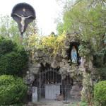Tuffstein Lourdesgrotte