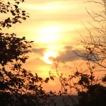 040 Sonnenuntergang Donautal