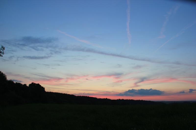 052 Sonnenuntergang Donautal