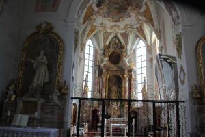 Altarraum Maria Schray Pfullendorf
