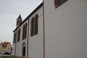 Aussenwand Kirche Mochenwangen