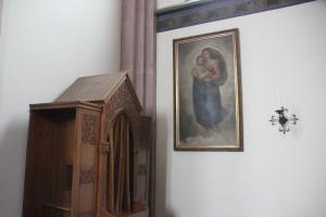 Beichtstuhl Kirche Mochenwangen