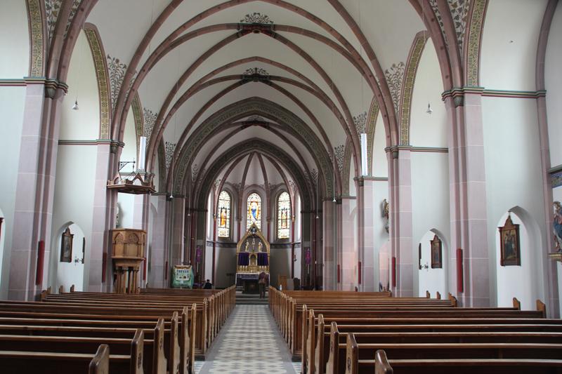 Innen Kirche Mochenwangen