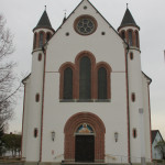 Kirchenfront Mochenwangen