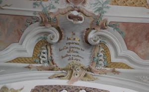 Lateinische Inschrift Maria Schray Pfullendorf