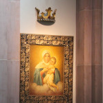 Maria Bild Kirche Mochenwangen