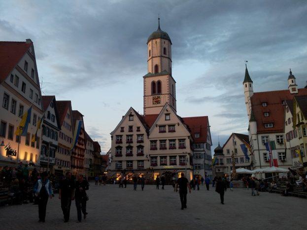 Marktplatz Biberach Schützenfest