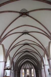 Neogotische Decke Kirche Mochenwangen