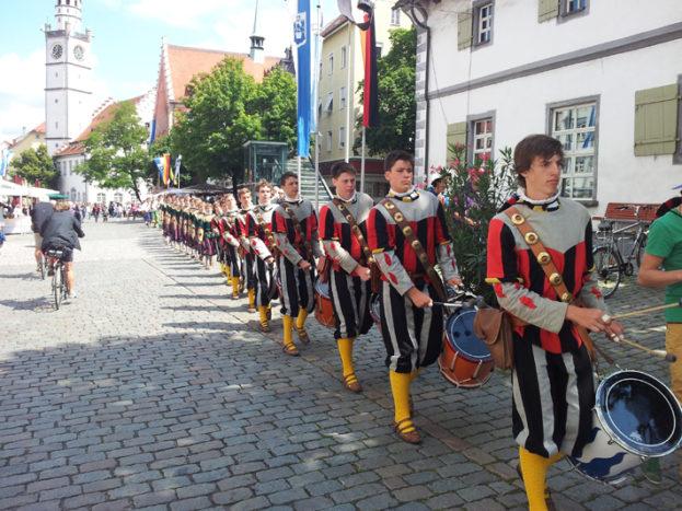 Trommler Rutenfest Ravensburg