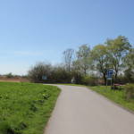 Weg zum Naturschutzgebiet Eriskircher Ried