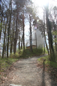 Aufgang zum Hohenbodman Turm