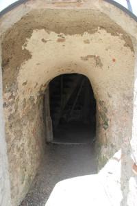 Eingang Aussichtsturm Hohenbodman