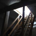 Holztreppe Aufgang Hohenbodman