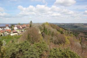 Sicht auf Hohenbodman vom Turm aus