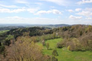 Sicht auf Linzgau