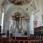 21 Chorraum Schlosskriche Zeil