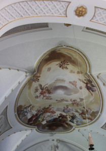 22 Deckenmalerei Schlosskirche Zeil