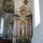 25 Seitenaltar Schlosskirche Zeil