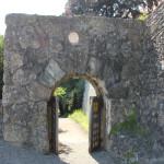 30 Mauerdurchgang Schloss Zeil