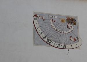 33 Sonnenuhr Schloss Zeil