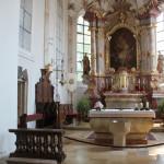Altarraum St Martin Altheim