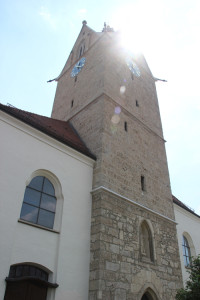 Alter Turm Kirche Altheim