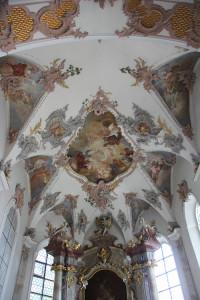 Decke Apsis Kirche Altheim
